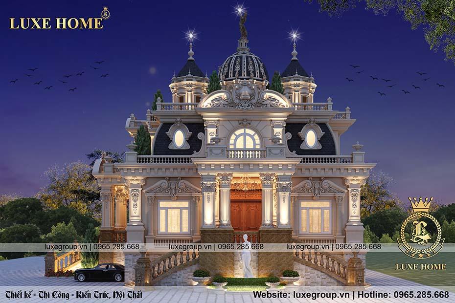 thiết kế lâu đài cổ điển ld 2228