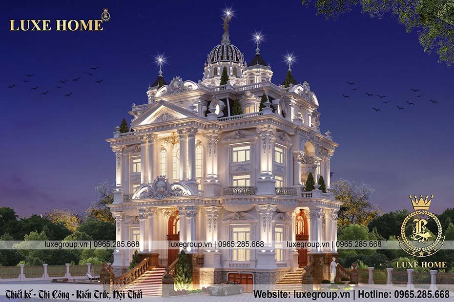 lâu đài cổ điển pháp ld 5113