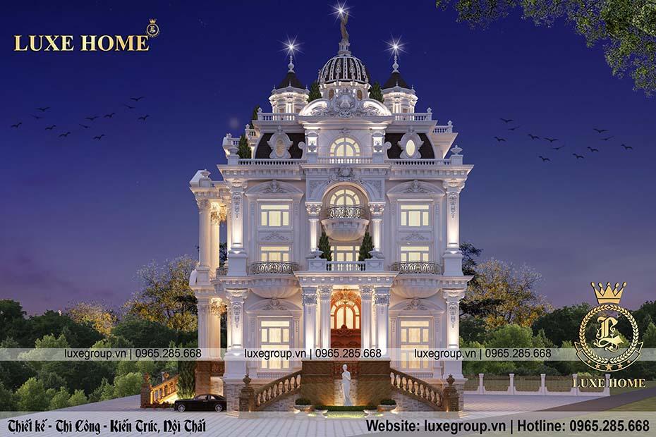 mẫu lâu đài sang trọng ld 5113