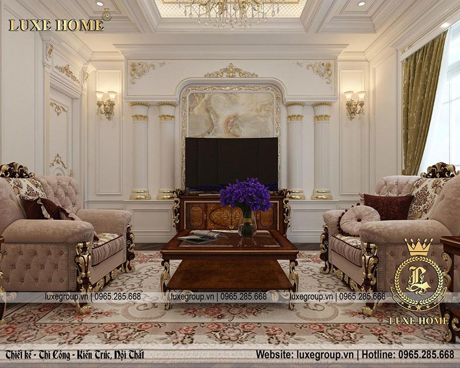 thiết kế phòng khách nt 0156