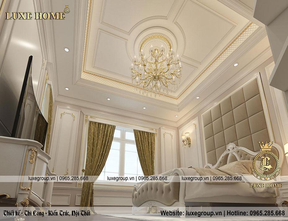 thiết kế phòng ngủ sang trọng nt 0156