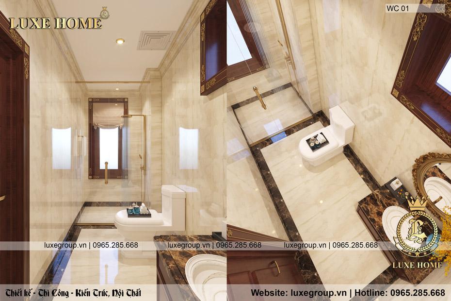 phòng tắm và wc sang trọng
