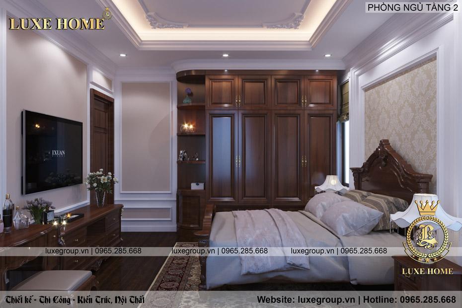 nội thất phòng ngủ tân cổ điển