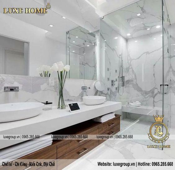 nội thất nhà tắm đẹp sang trọng nt 0157