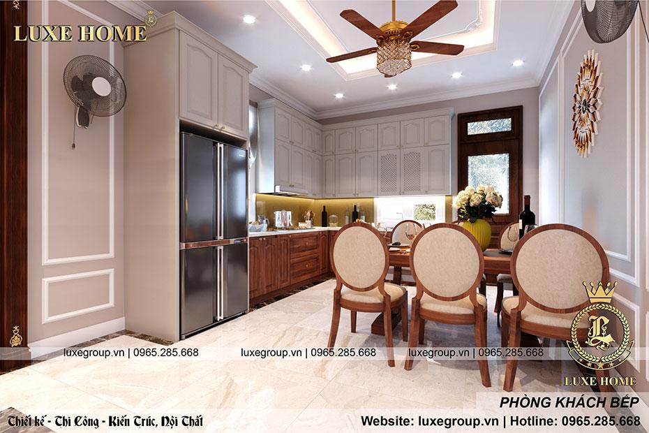 thiết kế nội thất phòng bếp nt 0159