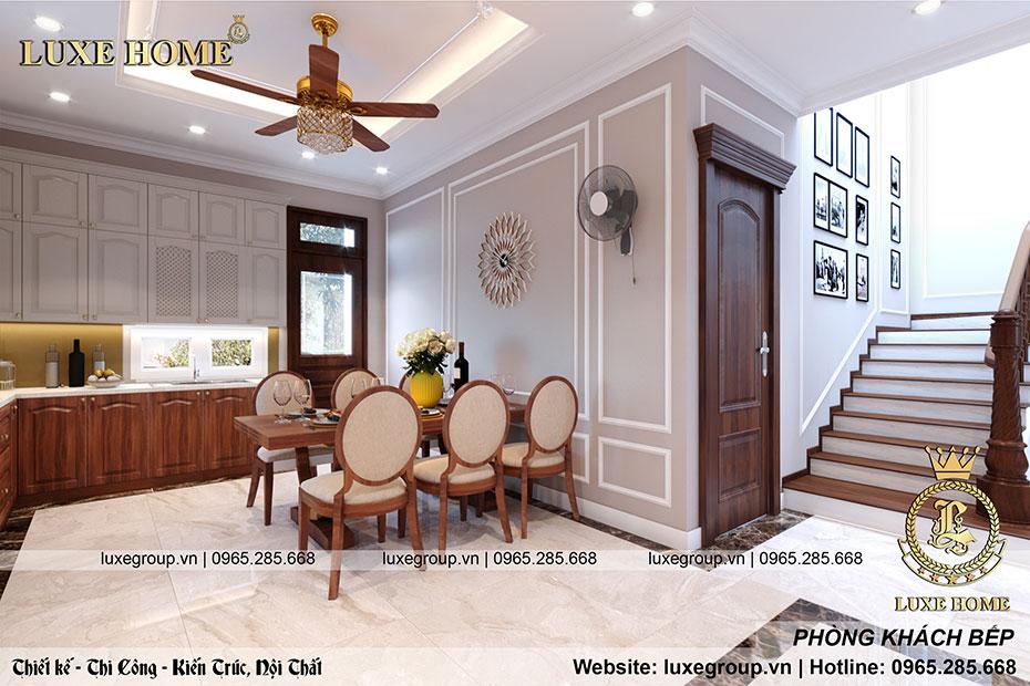 nội thất phòng ăn đẹp nt 0159