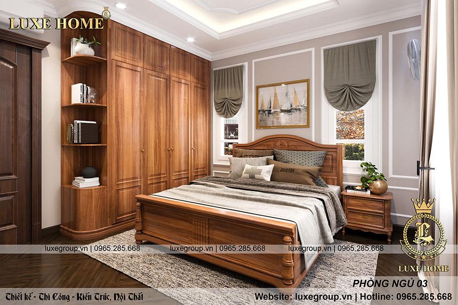 phòng ngủ tân cổ điển nt 0159