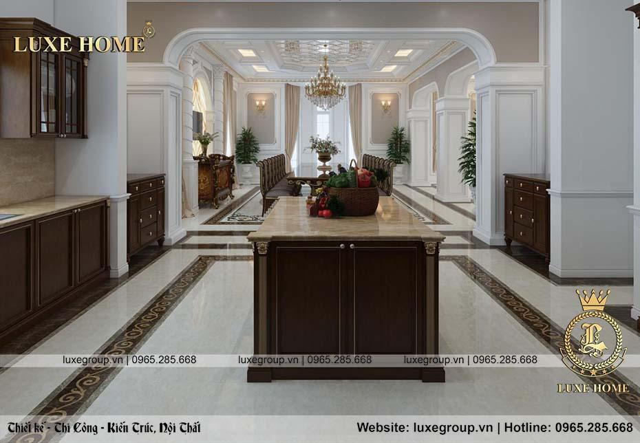 phòng bếp không gian đẹp và rộng rãi nt 0151