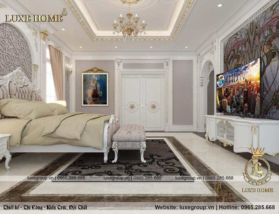 phòng ngủ tân cổ điển nt 0151