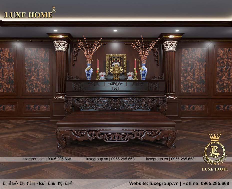 phòng thờ gỗ đẹp nt 0151