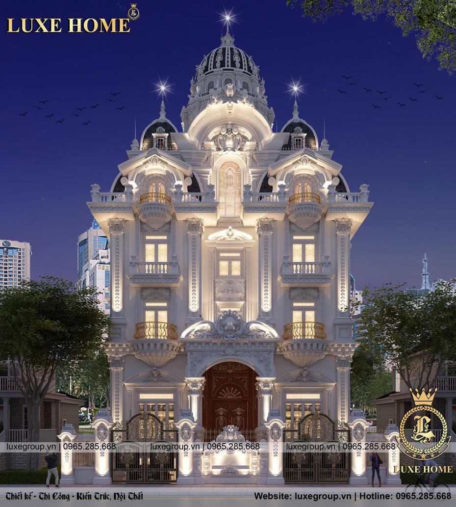 thiết kế lâu đài dinh thự ld 5117