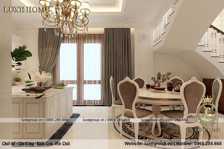 thiết kế nội thất phòng ăn nt 0155