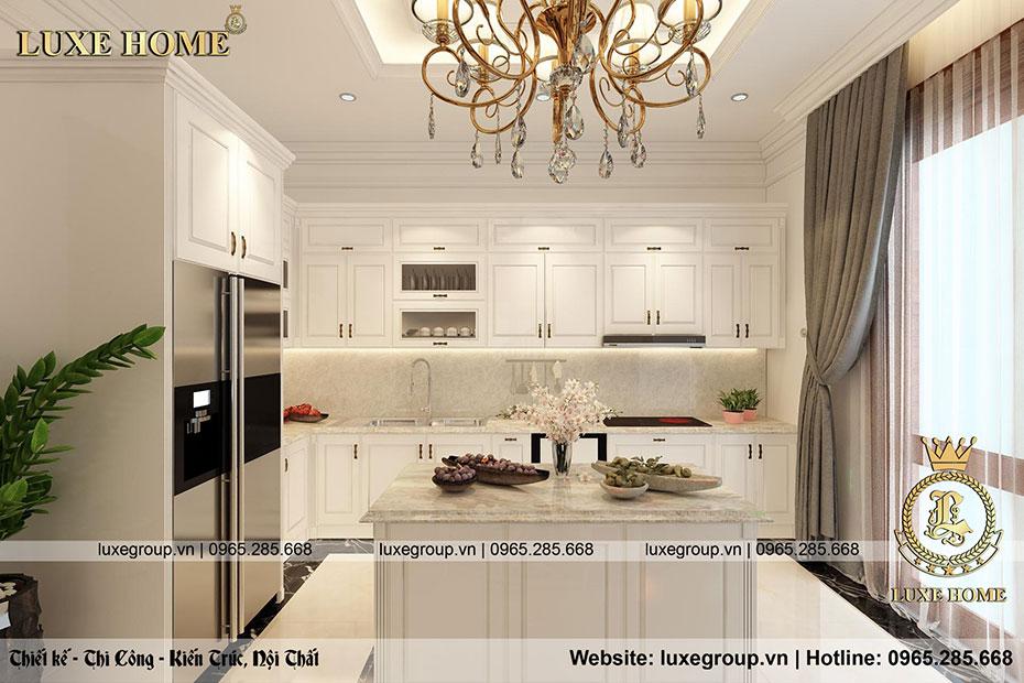 không gian nội thất phòng bếp đẹp nt 0155