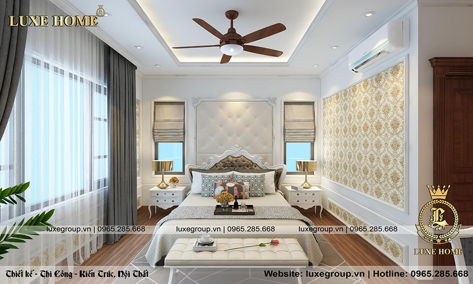 thiết kế nội thất phòng ngủ nt 0155