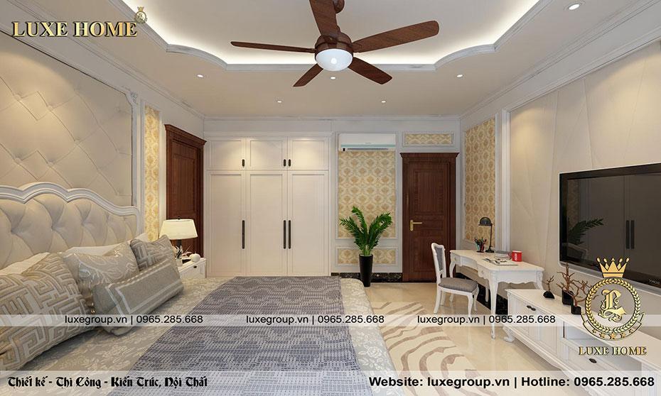 thiết kế phòng ngủ đẳng cấp tiện nghi nt 0155