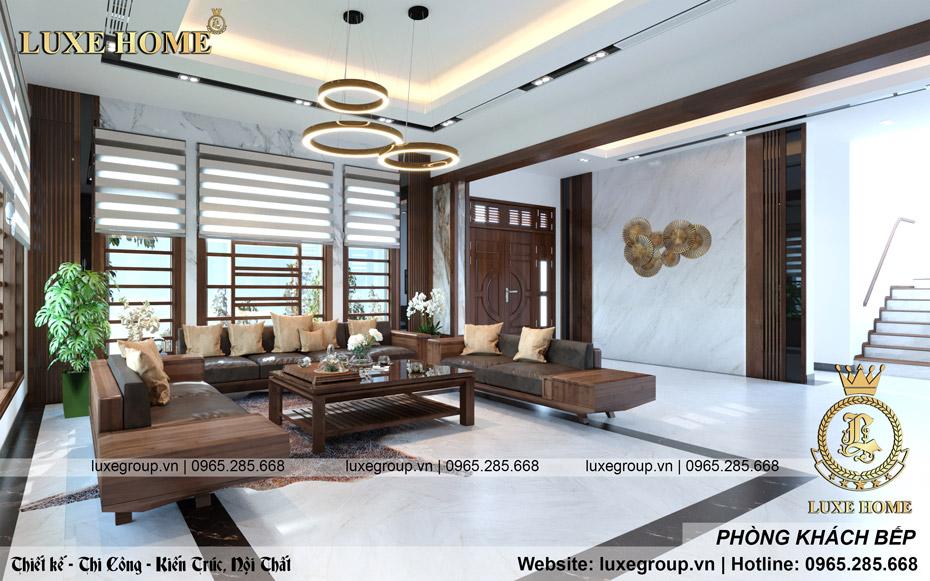 thiết kế nội thất biệt thự hiện đại bt 3117 02
