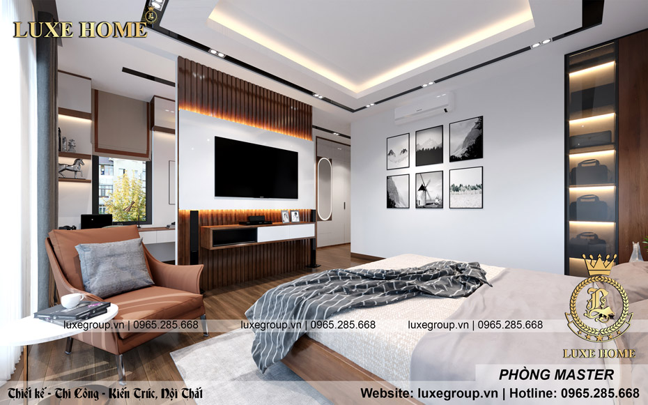 thiết kế nội thất biệt thự hiện đại bt 3117 08