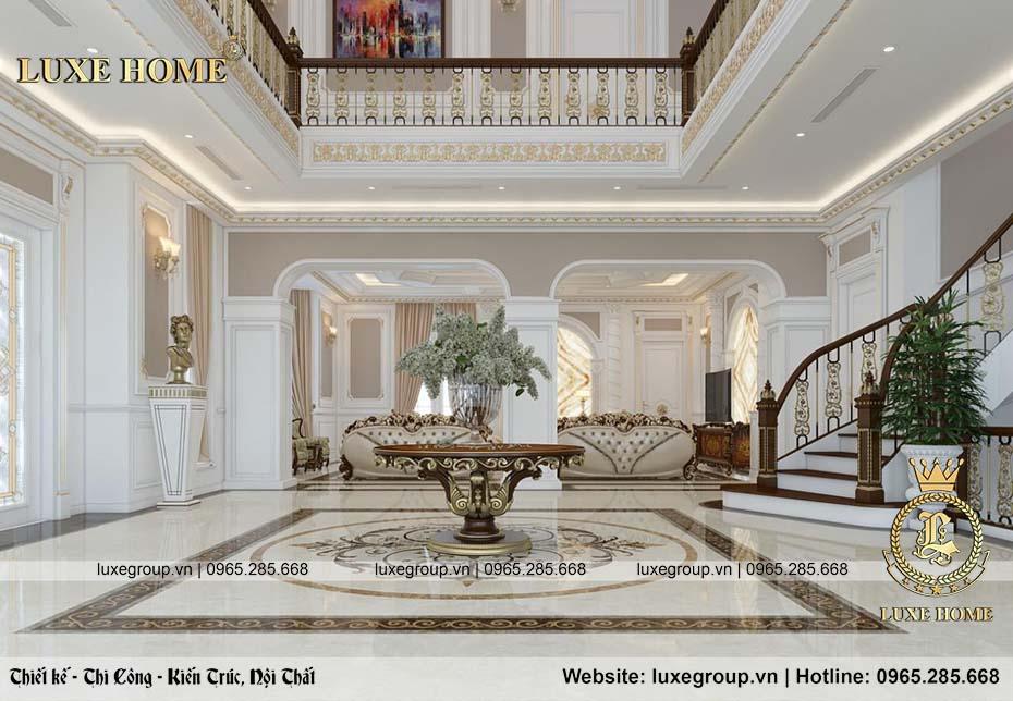 thiết kế nội thất phòng khách sang trọng nt 0151