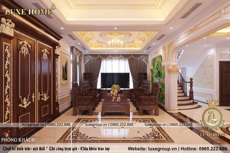 Thiết kế nội thất tân cổ điển – Mã số: NT 2135