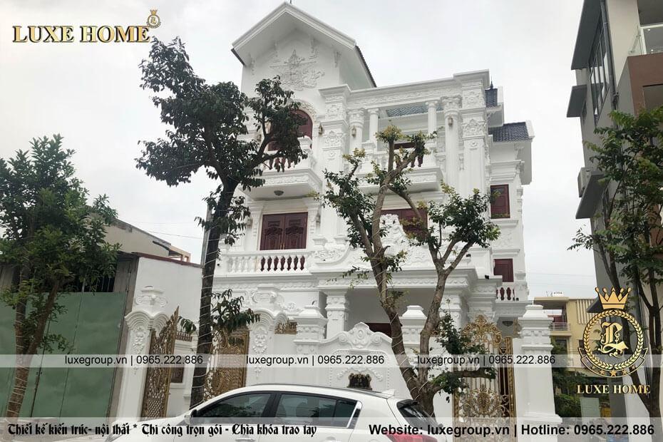Thi Công Biệt Thự 3 Tầng Anh Chung Tại Ninh Bình – TC 3196