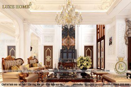 Thiết kế nội thất biệt thự đẹp – NT 0119 Luxe Home
