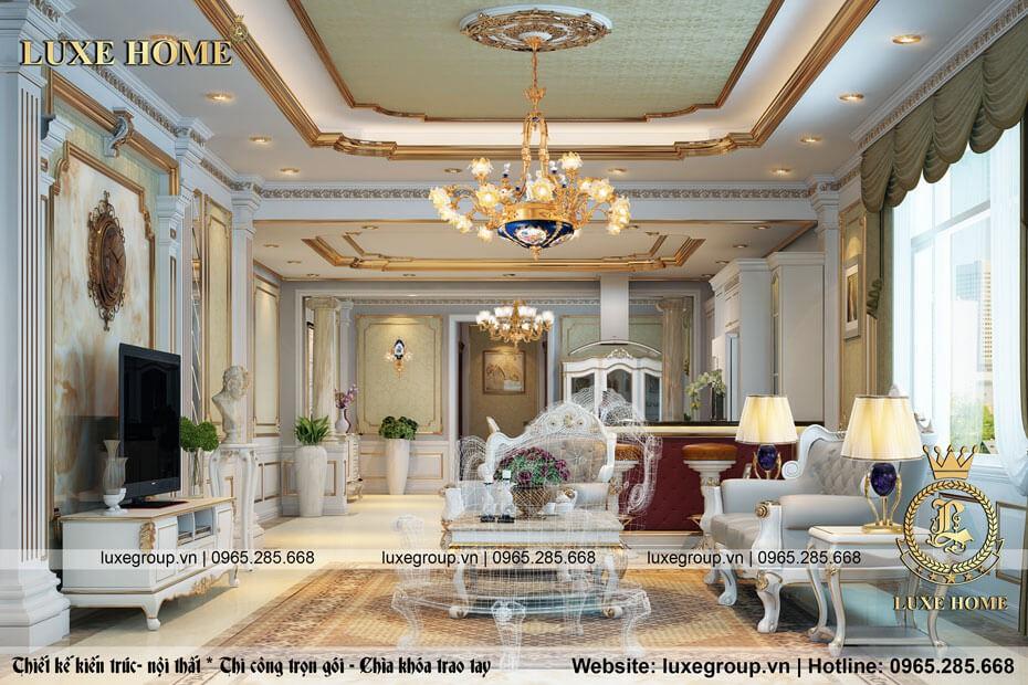 Thiết Kế Nội Thất Chung Cư Tại Hà Nội – NT 0120 Luxe Home