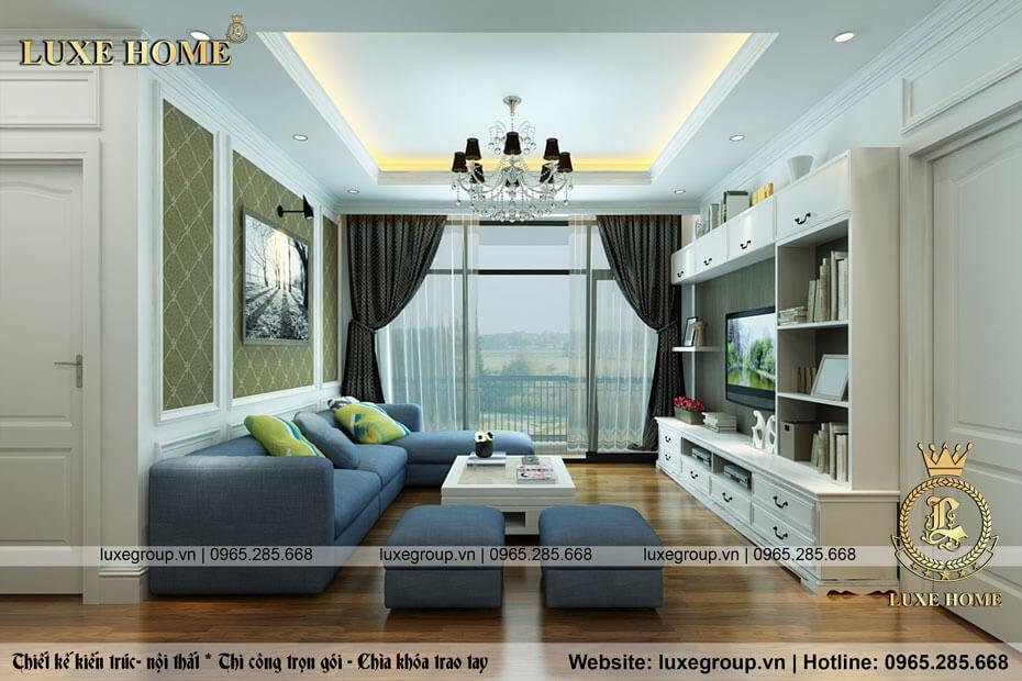 Thiết Kế Nội Thất Chung Cư Quảng Ninh – NT 0121 Luxe Home