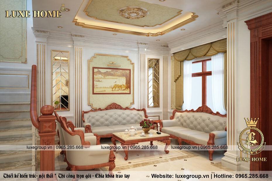 thiết kế nội thất biệt thự nt 0122