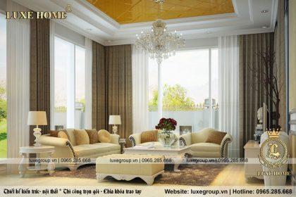 Thiết Kế Nội Thất Biệt Thự Tại Hải Dương – NT 0123 Luxe Home