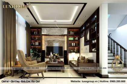 Thiết Kế Nội Thất Biệt Thự – NT 0116 Luxe Home