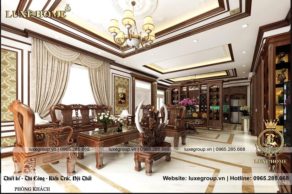 Mẫu Thiết Kế Nội Thất Biệt Thự Hiện Đại – NT 0135 Luxe Home
