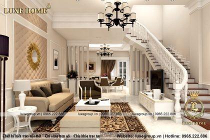 Thiết kế nội thất tân cổ điển biệt thự – Mã số: NT 0113