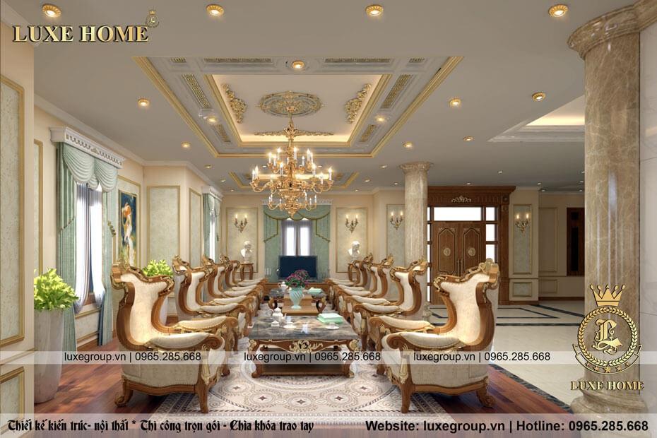 thiết kế nội thất biệt thự nt 0126