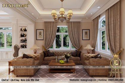 Thiết Kế Nội Thất Biệt Thự Hiện Đại – NT 0138 Luxe Home