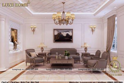 Thiết Kế Nội Thất Biệt Thự Tân Cổ Điển – NT 0139 Luxe Home