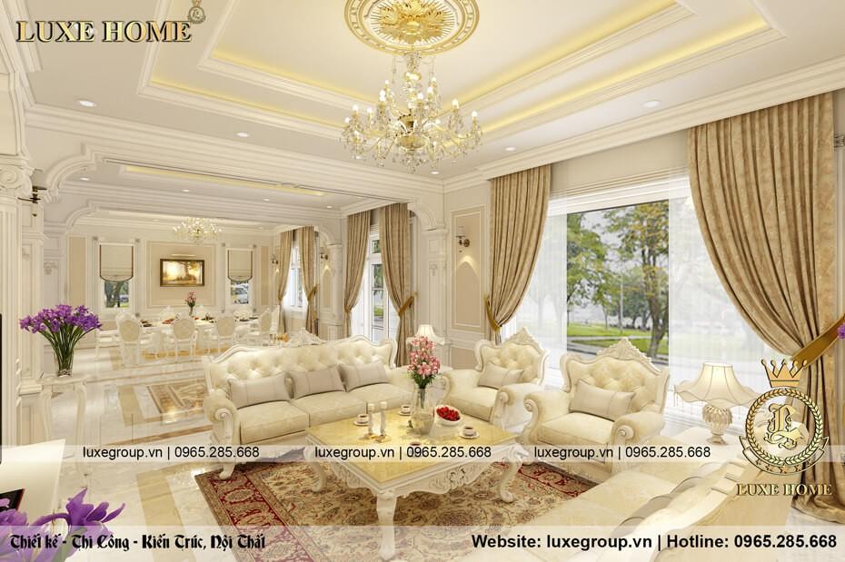 Thiết Kế Nội Thất Tân Cổ Điển Luxe Home – NT 0143
