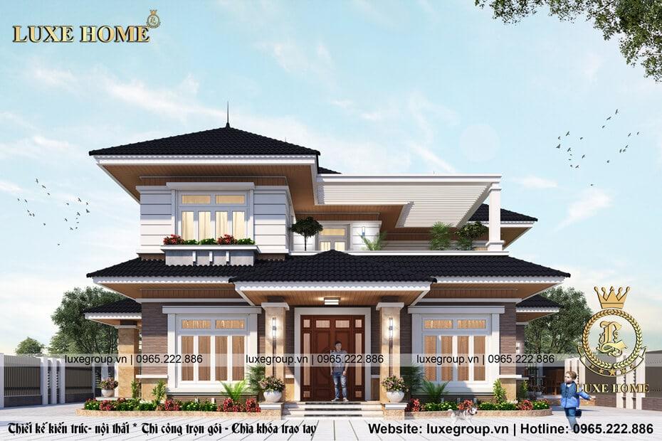 Biệt Thự 2 Tầng Hiện Đại Tại Bắc Ninh – BT 2151