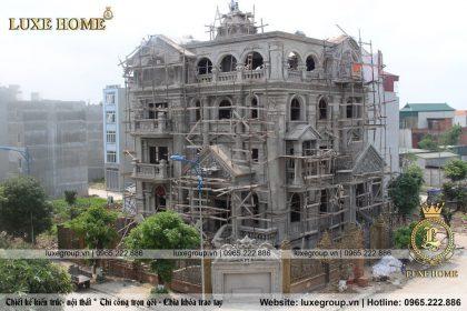 Thi Công Biệt Thự 5 Tầng Tân Cổ Điển Tại Hà Nội – TC 5751 Luxe Home