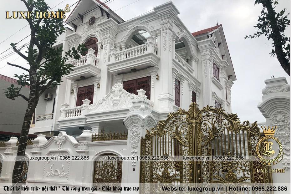 Thi Công Biệt Thự 3 Tầng Anh Khiêm Ninh Bình – TC 4153 Luxe Home