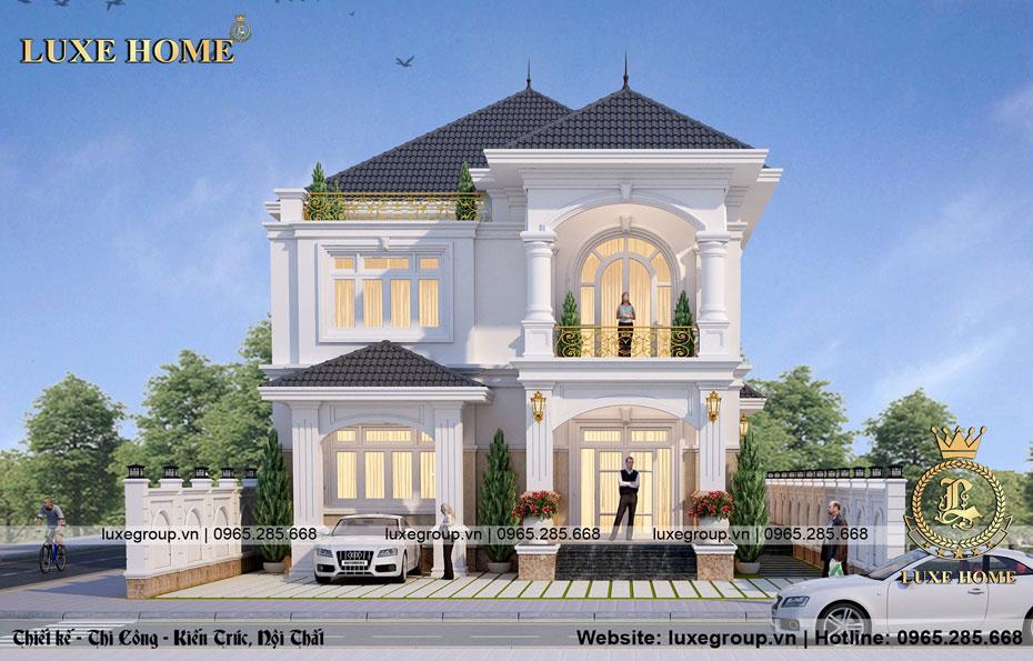 Biệt thự 2 tầng tân cổ điển sang trọng – Luxe Home – BT 2183