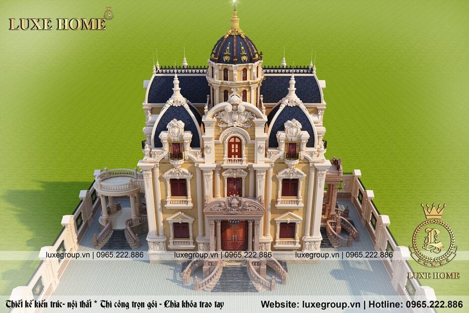 lâu đài cổ điển 3 tầng đăng cấp ld 31599
