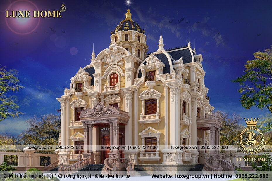 lâu đài cổ điển 3 tầng ld 31599