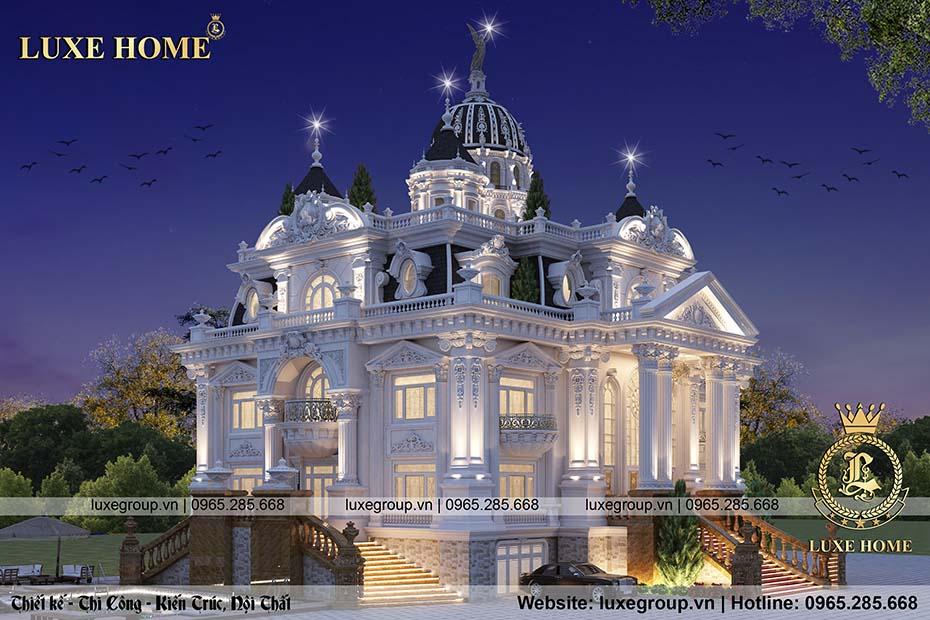 thiết kế lâu đài cổ điển ld 4115