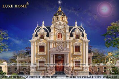Lâu đài cổ điển 3 tầng đẳng cấp hoa lệ – LD 31599
