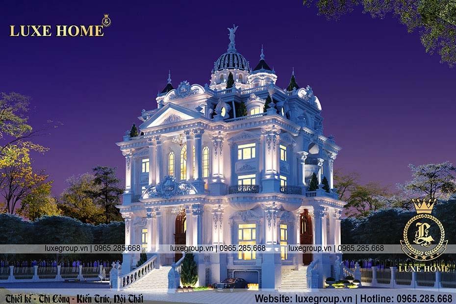 lâu đài phong cách pháp cổ điển ld 52224