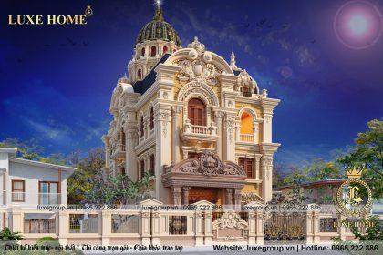 lâu đài cổ điển 3 tầng đẹp ld 31612
