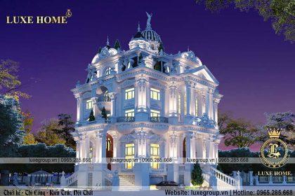 mẫu thiết kế lâu đài 5 tầng cổ điển ld 52224