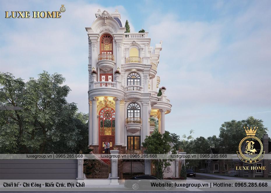 thiết kế biệt thự 3 tầng đẹp bt 31525