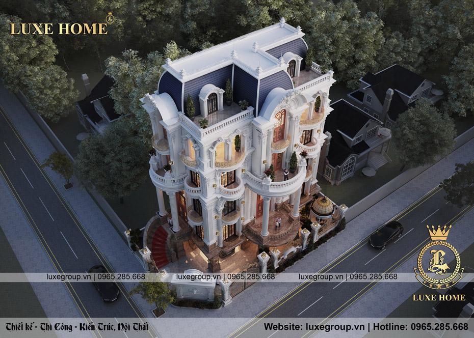 mẫu nhà biệt thự 3 tầng bt 31525