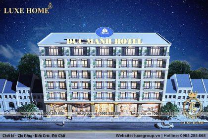 thiết kế khách sạn 6 tầng sang trọng ks 61158